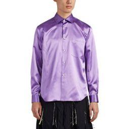 Oversized Satin Shirt