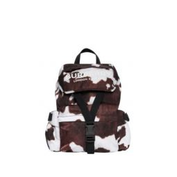 Wilfin Small Leather-Trimmed Backpack