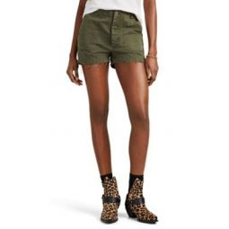The 50s Military Twill Shorts