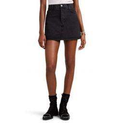 The 60s Denim Miniskirt