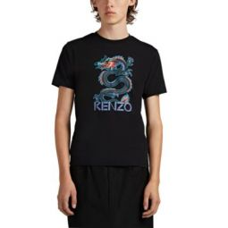 Dragon-Print Cotton T-Shirt