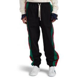 Striped Oversized Track Pants