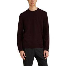 Marled Cashmere Crewneck Sweater