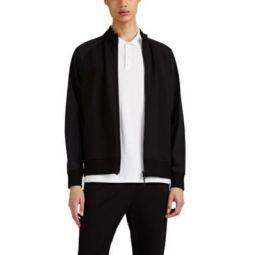 Endurance Ponte-Knit & Tech-Taffeta Jacket