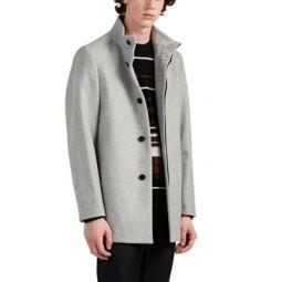 Christopher Wool-Blend Melton Coat