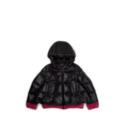 Kids Down-Quilted Hooded Puffer Coat