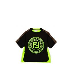 Kids Logo Mixed-Media T-Shirt