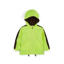 Kids Reversible FF-Logo-Striped Jacket