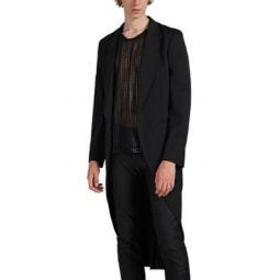 Wool Drop-Cut Topcoat