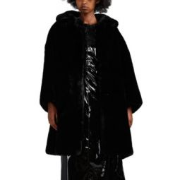 Oversized Faux-Fur Coat