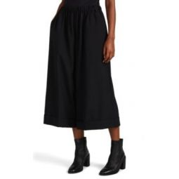Worsted Wool Cuffed Culottes