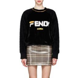 Fendi Mania Mink Fur Sweatshirt