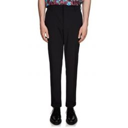 Cotton Twill Cuffed Trousers