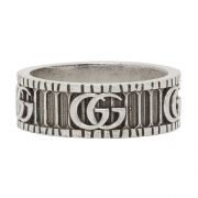 Silver Double G Ring