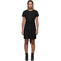 Black Aimie Tie Dress