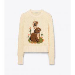 Bunny Intarsia Sweater