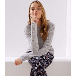 Pointelle Patterned Sweater