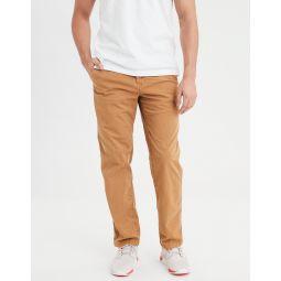 AE Ne(X)t Level Relaxed Straight Khaki Pant