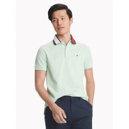 Custom Fit Essential Contrast Collar Polo