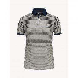 Slim Fit Essential Stripe Polo