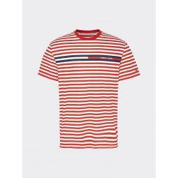 Organic Cotton Logo Stripe T-Shirt