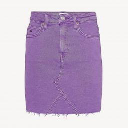 Lavender Denim Skirt