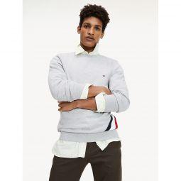 Diagonal Stripe Sweatshirt