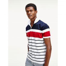 Regular Fit Stripe Polo