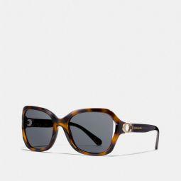 Signature Hardware Rectangle Sunglasses