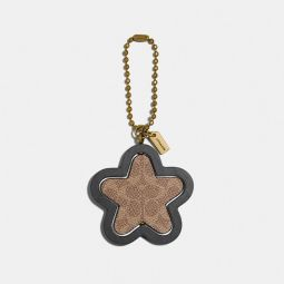 Spinning Star Hangtag In Signature Canvas