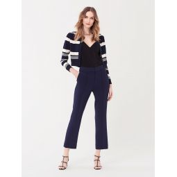 Dorothy Cotton-Cashmere Cropped Cardigan