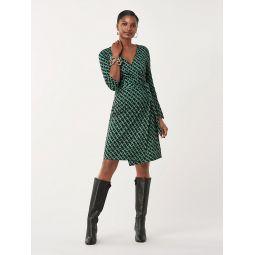 New Julian Two Silk-Jersey Wrap Dress