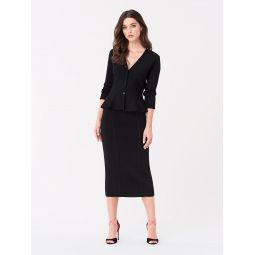 Heath Fitted Knit Skirt