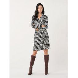 New Jeanne Two Silk-Jersey Wrap Dress