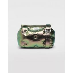 Glam Slam Metallic Medium Clutch