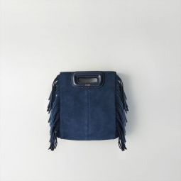 Mini Suede M Bag With Chain