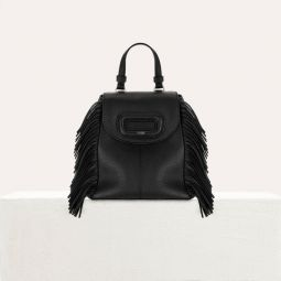 Mini M Backpack In Leather With Chain