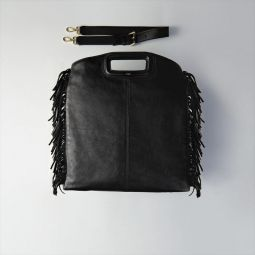 Tote With Leather Fringe