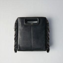 Large Fringed Leather Bag