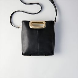 M Mini Skin Bag In Leather