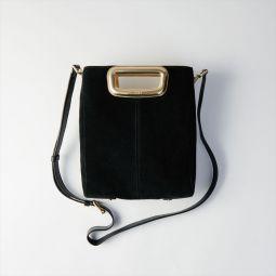 M Skin Bag In Suede