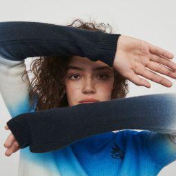 Sweater In Color Gradient