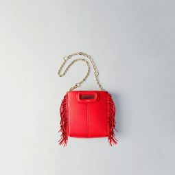 Mini Leather M Bag With Chain