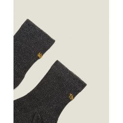 Lurex Embroidered Socks