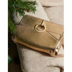 Full Gold Yza Bag, Small Model