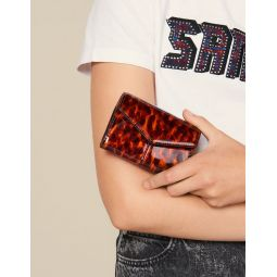 Printed Patent Leather Wallet