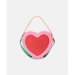 Heart Bag With Chain Strap
