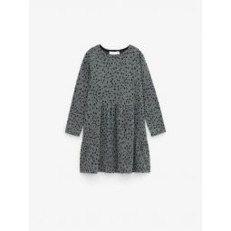 SOFT SPOTTED DRESS