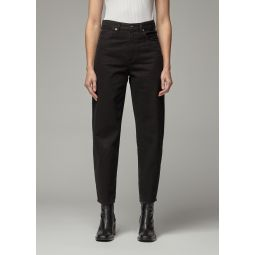 Goldsign Curved Jean in Painted Black | Totokaelo