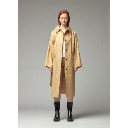 Original Padded Rubber Jacket in Beige